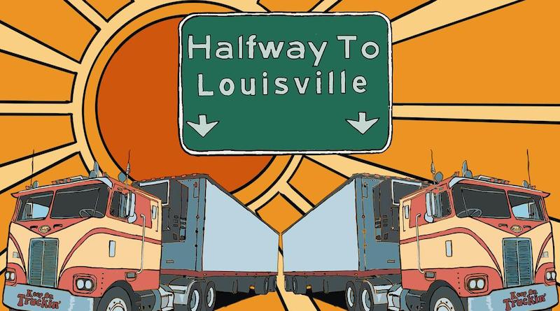 Johnny Berry Halfway to Louisville